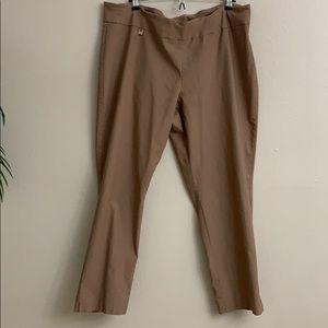 Women's plus size skinny leg pants